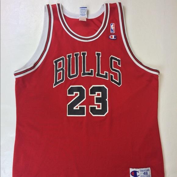 2e5931fdac0 Michael Jordan Mens 48 Chicago Bulls Jersey XL 23.  M 5ad0bcef1dffdab05130bf05